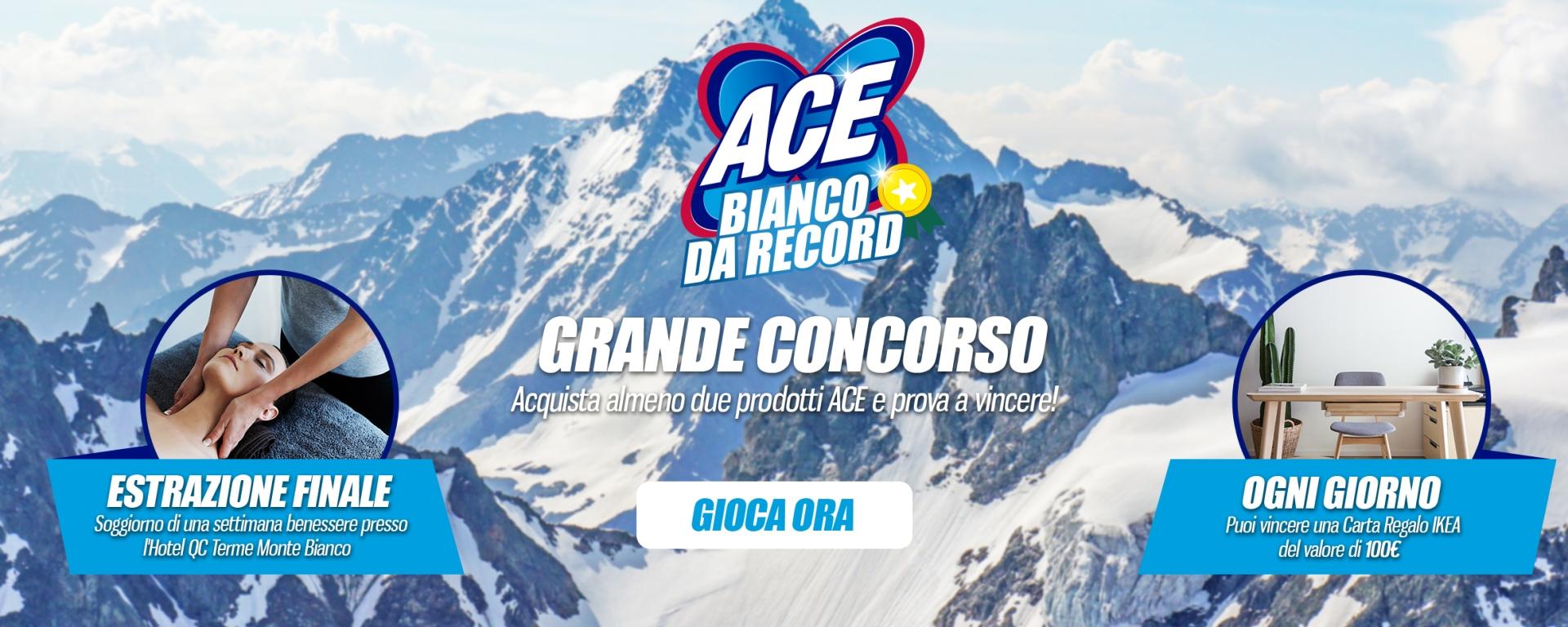 Ace Bianco Da Record Ogni Giorno Vinci Gift Card Ikea Da 100